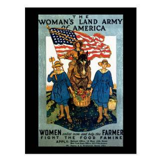 Women's Land Army Postcards