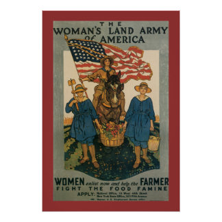 Women's Land Army Posters