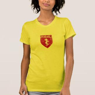 Women's Large Distressed Azhar Logo T T-Shirt