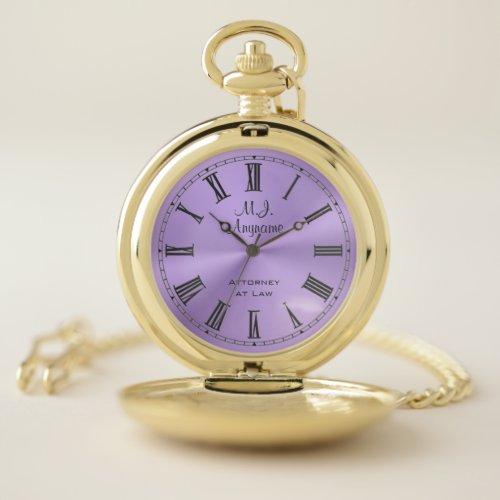 Womens Lawyer / Attorney luxury lilac chrome-look