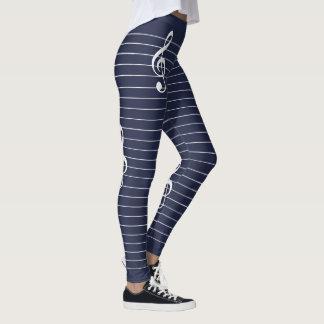 Women's Leggings SCORE Blank Page Leggings