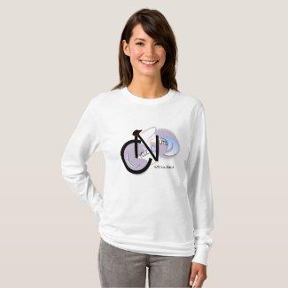 Women's Long sleeve CycleNuts T T-Shirt