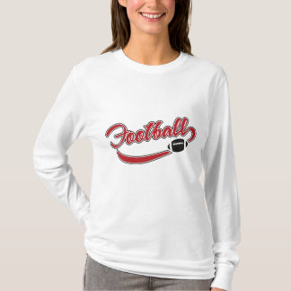 Women's Long Sleeve Football T-Shirt