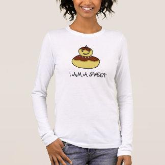 """WOMEN'S  long sleeve T-SHIRT  """"I AM A SWEET"""""""