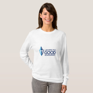 Women's Long-Sleeve T-Shirt with L4GG Logo