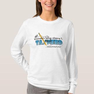 Women's Long Sleeve Tax Nerd t-shirt