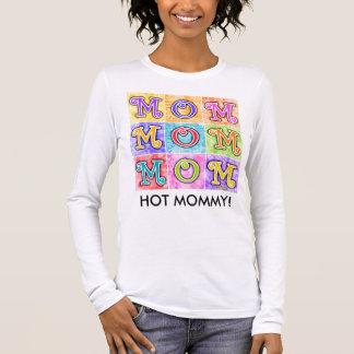 Women's Long Sleeve Tees - MOM Pop Art