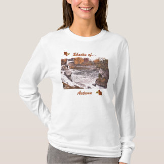 """Women's Long Sleeve Top with """"Shades of Autumn"""""""