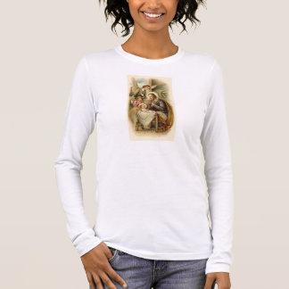 Women's Long sleeved T-Shirt - St. joseph Nativity