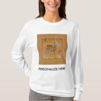 Women's Long Sleeved Tees - Carousel Stork
