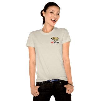 Women's Love a Lab Organic T-shirt