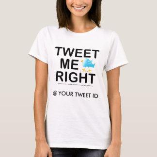 Womens Lt. Tees - Tweet Me Right