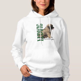 Women's Ludwig the Leonberger Puppy Hoodie