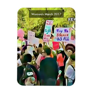 Women's March 2017 Anti Trump Agenda Protest Magnet