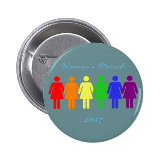women's march 2017 LGBTQIA Button