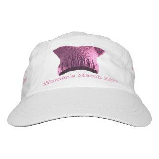 Women's March 2017 Pink Pussy Cat Slogan Hat #1