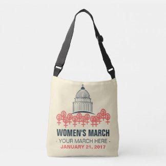 "Women's March--Custom ""Sister"" March Crossbody Bag"