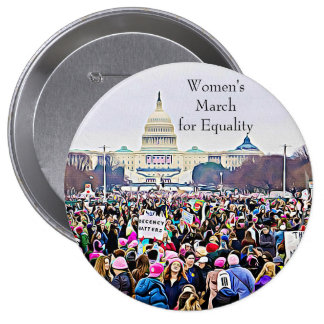 Women's March in Washington DC Photo Button