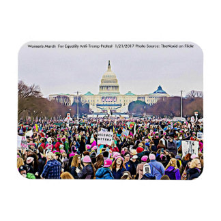 Women's March in Washington DC Photo Magnet