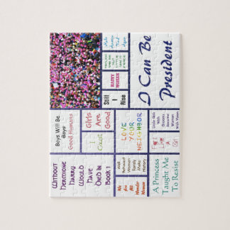 Women's March Jigsaw Puzzle