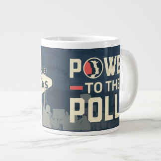 Women's March LV Power to the Polls Skyline mug