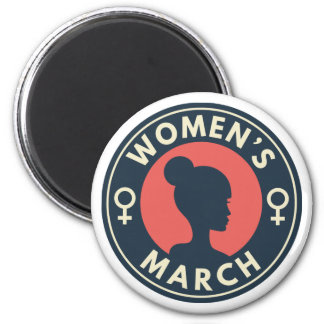 Women's March Magnet
