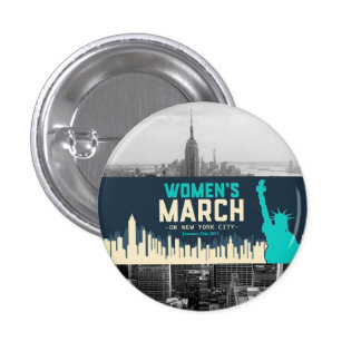 Women's March on NYC Button