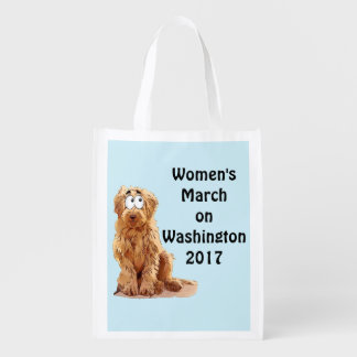 Women's March on Washington 2017 Reusable Grocery Bag