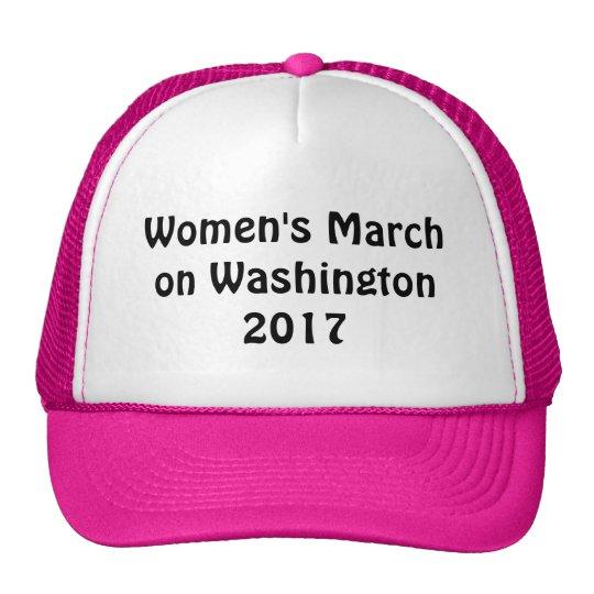 s march on washington 2017 trucker hat zazzle