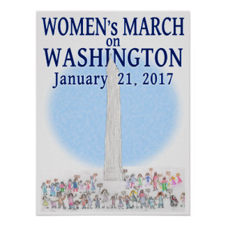 Women's March on Washington - by Pearl Poster
