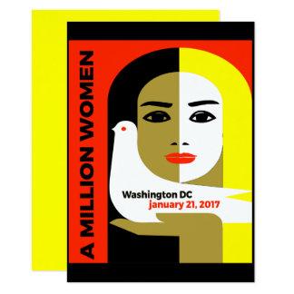 Women's March On Washington - January 21, 2017 Card