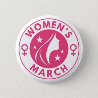 Women's March Pinback Button