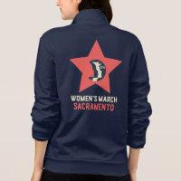 Women's March Sacramento Unisex Fleece Jacket