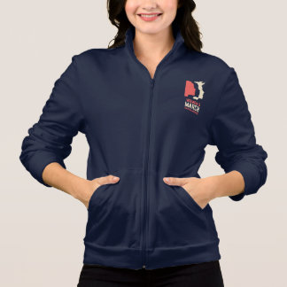 Women's March Sacramento Unisex Fleece Zip Jogger Jacket