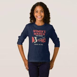 Women's March San Diego Long Sleeve Tshirt