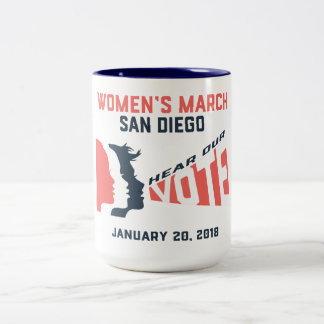 Women's March San Diego Mug
