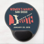 "Women&#39;s March San Diego Official Gel Mouse Pad<br><div class=""desc"">We are a volunteer, women-led grassroots organization. All proceeds go toward the necessary funding for the annual March on January 20, 2018 and for operational purposes required to continue the important work set forth by the organizations unity principles. The mission of Women's March San Diego, Inc. is to harness the...</div>"