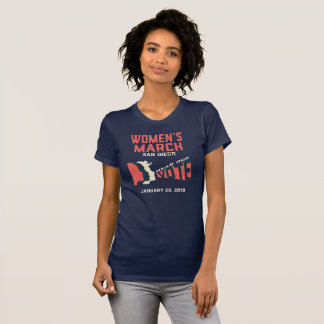 Women's March San Diego Official T-Shirt