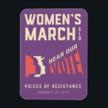 """Women&#39;s March SLO 2018 January Event Magnet<br><div class=""""desc"""">Women&#39;s March SLO 2018 January Event Magnet</div>"""