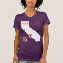 Women's March SLO - Purple Shirt