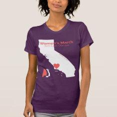 Women's March Slo - Purple Shirt at Zazzle