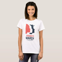 Women's March SLO - White National Graphic T-Shirt