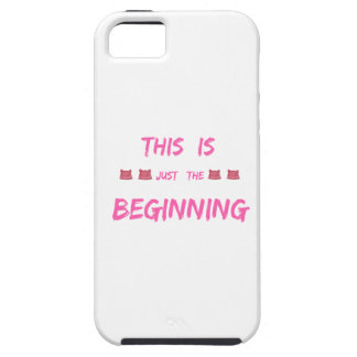 WOMEN'S MARCH  THIS IS JUST THE BEGINNING iPhone SE/5/5s CASE
