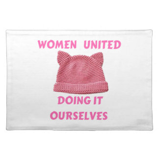 WOMEN'S MARCH UNTIED DOING IT OURSELVES CLOTH PLACEMAT