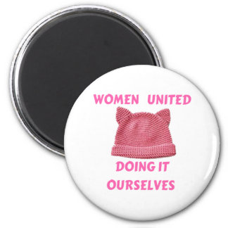 WOMEN'S MARCH UNTIED DOING IT OURSELVES MAGNET