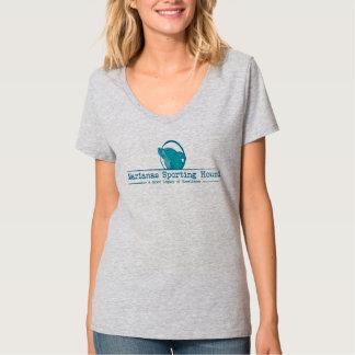 Women's Marianas Sporting Hound Shirt (Blue)