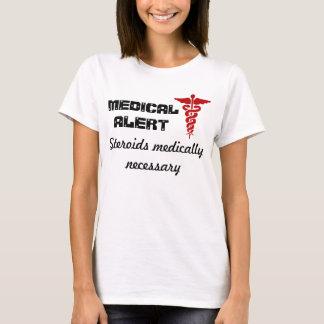 Womens medical alert shirt