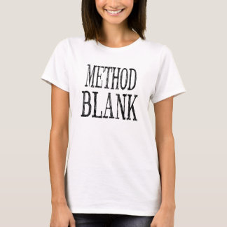 Women's Method Blank T-Shirt