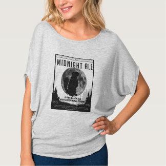 Women's Midnight Ale Shirt Bella Flowy Circle Top