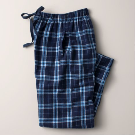 Women's Navy / Columbian Flannel Pajama Pants